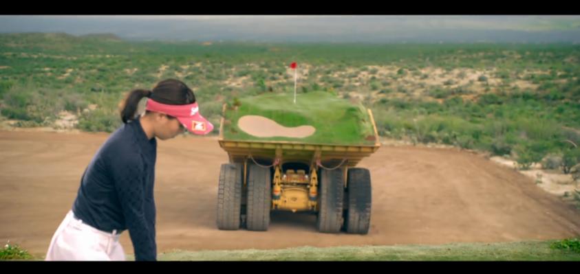 ゴルフ 重機